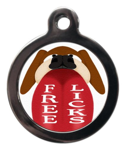 Pet ID Tag  Free licks